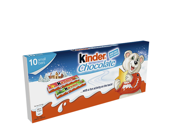 Kinder Chocolate bars 125g